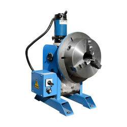 3-jaws 220-480 Pounds Hv Welding Positioner 10 Inch Chuck Rotary Turn Table