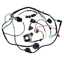 Wire Loom Wiring Harness 70 90 110cc 125cc Atv Go Kart 4 Wheeler Coolster Falcon