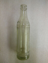 Maui Soda And Ice Works Hawaii 5 1/2 Fl.oz. Embossed Clear Glass Bottle