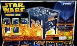 NEW Star Wars Foosball Table Game (2005) in Factory Sealed Box