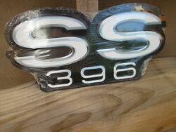 Chevrolet Chevy Ss396 Embossed Metal Signs Man Cave Garage Cool 12 By 6