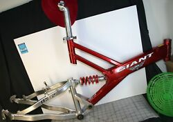 1999 Giant Warp Ds-2 Suspension Frame Bar Assembly Ird Techno-glide Headset