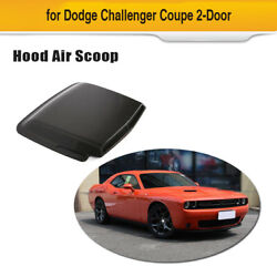 Car Hood Vent Louver Air Flow Decorative Intake Scoop Cover For Dodge Challenger