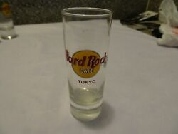 Hard Rock Cafe Tokyo Shot Glass Classic Logo 2-circle And Red Lettering