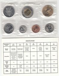 1997 Produced In Ottawa Proof Like Pl Canada Coin Set