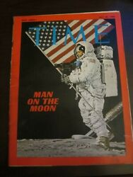 Time Magazine July 1969 Man on the Moon Neil Armstrong No Label (G)