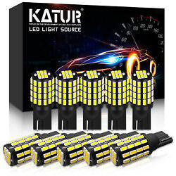 10 X Canbus 800lm T10 3014 54-ex Chipsets W5w 194 168 2825 Led Bulbs Xenon White