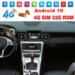 8.4 Android 10 Car Gps Head Unit Screen Stereo For Benz Slk Class R172 2010-15