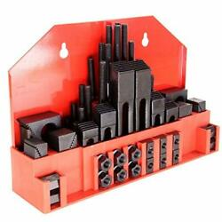 58 Pcs Hold Down Clamp Clamping Set Kit Bridgeport Mill 58