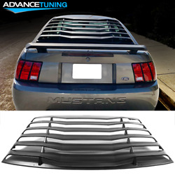 Fits 99-04 Ford Mustang Ikon Style Window Louver