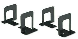 Bookends Black Premium Metal 5 inch High 2 Pair 4 bookends $6.99