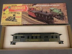 Ho Scale Roundhouse New York Central Fast Mail Pullman Baggage Kit