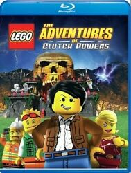 Lego: The Adventures Of Clutch Powers New Blu ray $20.44
