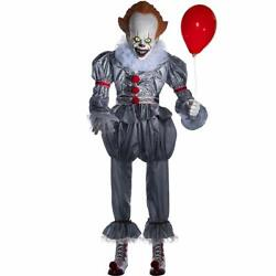 Pennywise The Clown Life Size 6and039 Animated Halloween Prop From 2019 It Movie