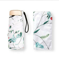 Mini Portable Rain Umbrella Compact 5 Folding Travel Pocket Sun Totes Umbrellas $16.99