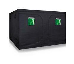 600D Mylar 120''x120''x80'' Grow Tent Kit for Hydroponics Indoor Plant Growing