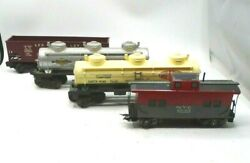 Lionel Train Lot Of 4 Nyc 20102, Lehigh Valley 6456, Sunoco, Dupont Vintage Htf