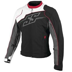 Nos Speed And Strength 879696 Hammer Down Text Jacket Red White Blk Size Mens 2x