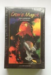 Crow's Magick Tarot Deck And Book Set By Londa Marks U.s. Games Systems, 2001