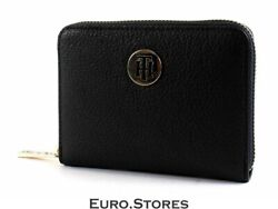 Th Core Compact Zip Around Wallet Corporate Blue Corporate Wallet
