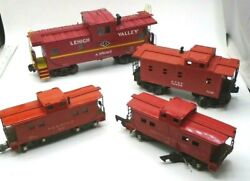 Reading 630 Red, American Flyer 638, K-line A95067, Lionel Atsf 16829 Lot Of 4
