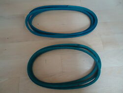 Deck And Pto Belt Set For John Deere 300 314 316 317 318 M82718 And M41668