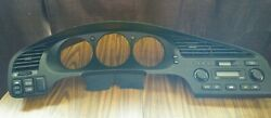 01 02 03 ACURA CL GAUGE CLUSTER DASH TRIM BEZEL WITH CLIMATE CONTROL