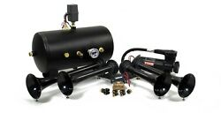 Hornblasters Conductorand039s Special 5485k Nightmare Edition Loud Train Air Horn Kit