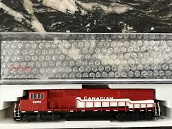 Atlas 1/160 N Scale Canadian Pacific Sd-60 Locomotive Dcc Ready 40002045 F/s
