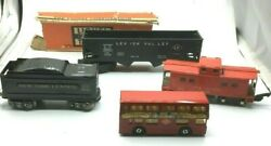 Lot Of 4 Lionel 6456 Lv, Reading 630, Nyc Marlines, Swinging London K-15 1972