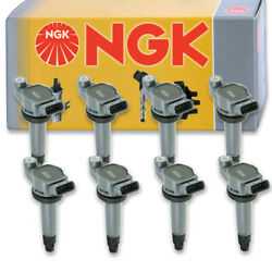 8 pcs NGK 48930 Ignition Coil for U5146 E1006 IC586 UF430 8415207 IC550 ln