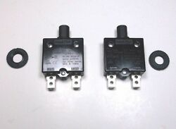 2 Carling Brand Push To Reset Panel Mount 10 Amp Circuit Breakers For Rvs