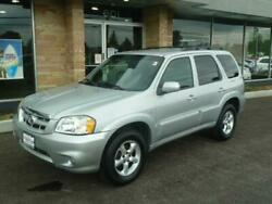 2005 Mazda Tribute i 4WD 4dr SUV 2005 Mazda Tribute i 4WD 4dr SUV Silver Luxury Car Outlet 630-405-1784