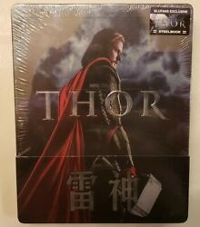 Marvel's Thor 3d 1/4 Slip Steelbook Blufans Exclusive Blu-ray, China 150/700
