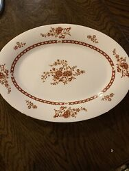 Vintage Liling Fine China Blooming Serving Dishes Wildflowers Gold Yung Shen