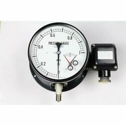 NKS Pressure Gauge with Electric Contact JM212330.1M 0.1MPa Japan