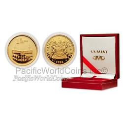 South Africa 1994 Presidential Inauguration 1 Oz Gold Proof Medallion Sku2351