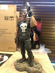 Sideshow Collectibles Punisher Exclusive Comiquette Statue Marvel 275 Olivetti