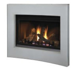 Napoleon Crystallo Direct Vent Natural Gas Fireplace Bgd36cfgn-1 With Surround