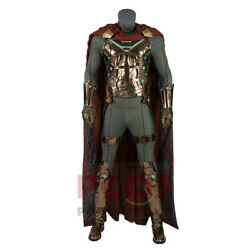 Spider-man Far From Home Villain Mysterio Quentin Beck Cosplay Costume And Shoe