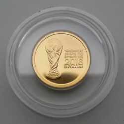 RUSSIA 50 RUBLE 2018 FIFA 2018 WORLD CUP IN RUSSIA. INVESTMENT COIN. AU 999