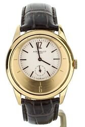 Dunhill X Centric 18K Rose Gold Manual Wind Timepiece Engraved