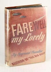 Raymond Chandler First Edition 1940 Farewell My Lovely Hardcover W/dustjacket