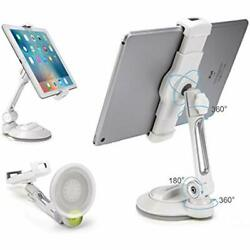 Grip Tight Ipad Suction Cup Holder Fits 4-11andrdquo Display Large Swivel Sticky