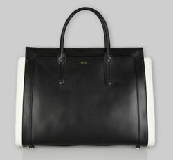 Bally of Switzerland Calf Leather Designer Satchel Tote Bag - 100% Authentic $850.00