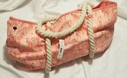 *NEW* No boundaries coral rope tote women bag purse one size beach totes $8.00