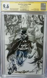 Detective Comics 1000 Cgc 9.6 Ss Signed Neal Adams Sketch Cover Variant Sold Out