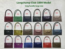 Auth Longchamp Le Pliage Club Collection Horse Embroidery Large Tote 1899 Model
