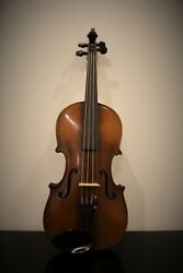 Superb Condition Antique Violin Full Size 4/4 Fully Setup - Vic