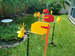 25xwindflags - Precision Benchrest Daisy Wheel Wind Flags